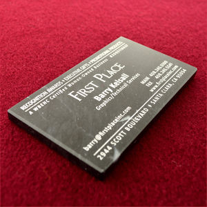 Promotional marble business card paperweight colourmoves